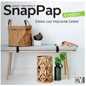 CHRISTOPHORUS VERLAG SnapPap kreativ - Ideen aus veganem Leder