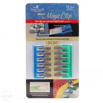 TAYLOR SEVILLE Stoffklammern Magic Clips Mini 12er Pack