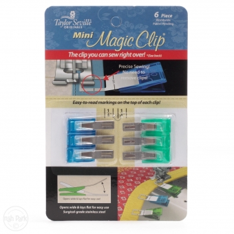 TAYLOR SEVILLE Stoffklammern Magic Clips Mini 6er Pack