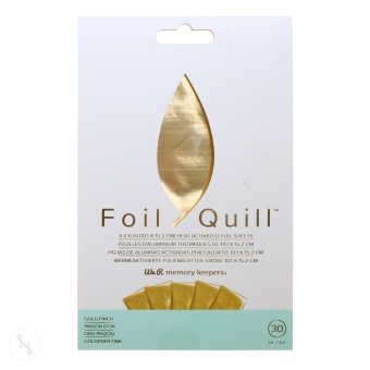 WE R MEMORY KEEPERS Folienblätter für Foil Quill