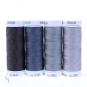 METTLER Farbsortiment Seralon 4 Farben Grau
