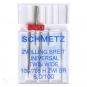 SCHMETZ Zwillingsnadel extrabreit, Breite 6.0 mm, Stärke 100
