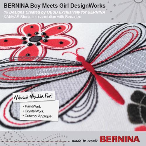BERNINA DesignWorks CD Boy meets Girl