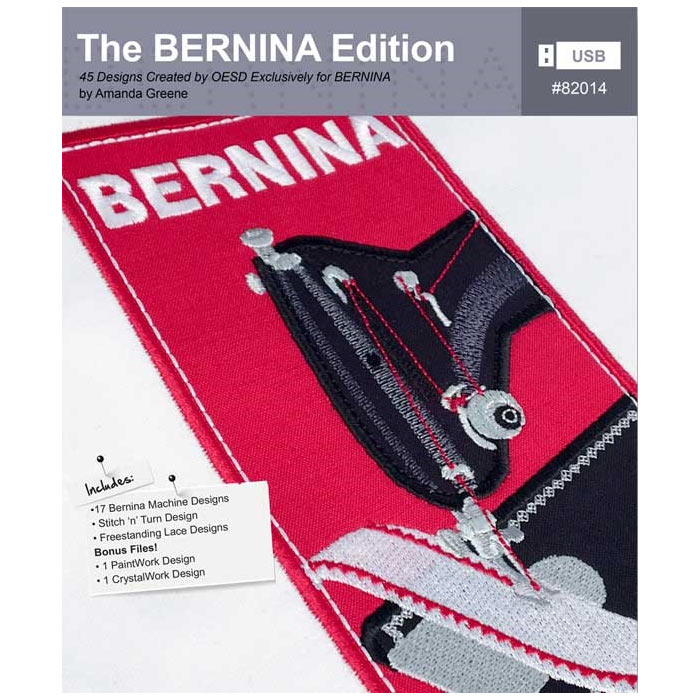 "BERNINA Stickkollektion ""The Bernina Edition"" Nr. 82014"