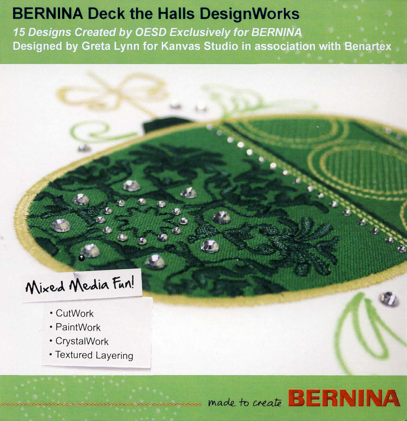 BERNINA DesignWorks CD Deck the Halls