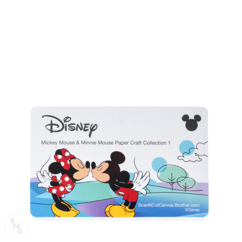 BROTHER Mustersammlung Mickey Maus & Minnie Maus - 26 Designs