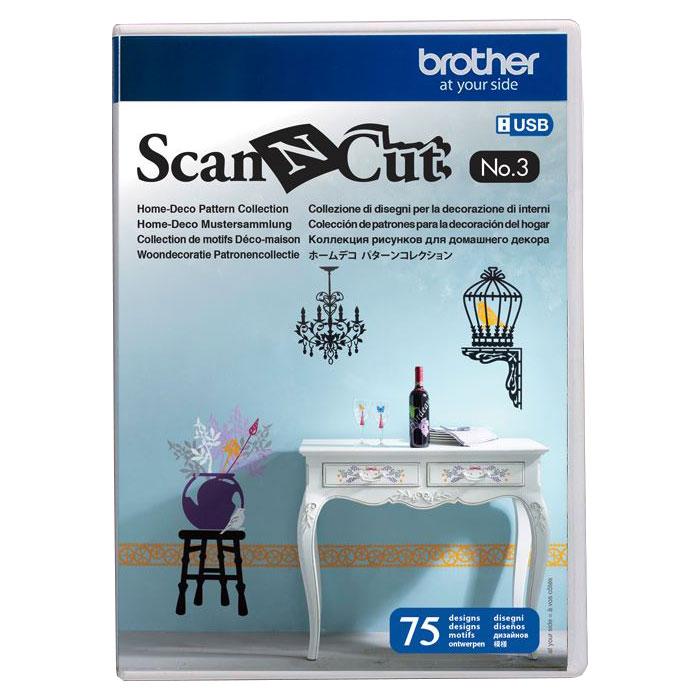 BROTHER ScanNCut Designs Nr. 3