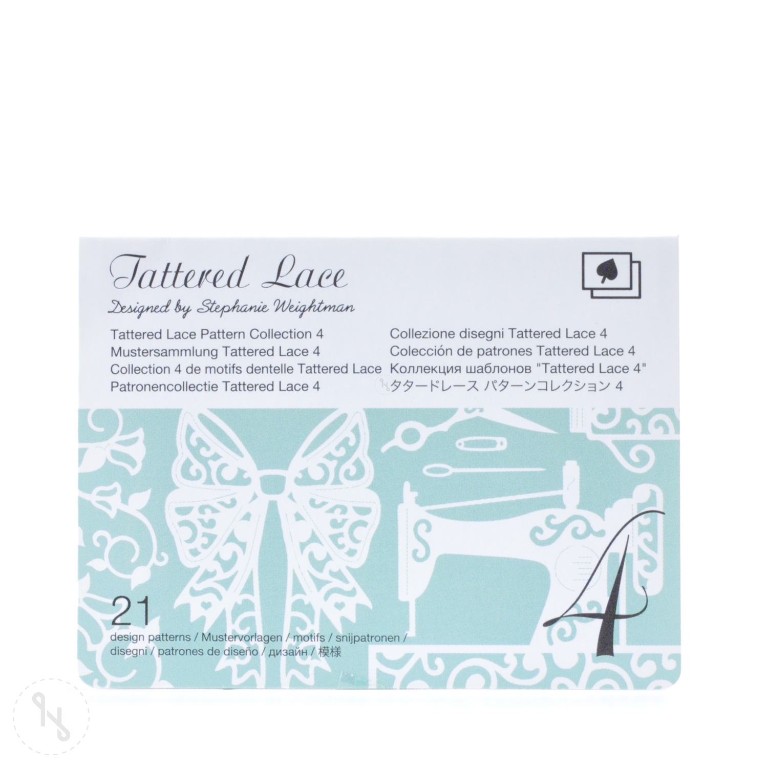 BROTHER Tattered Lace Pattern Collection 4 - 21 Designs
