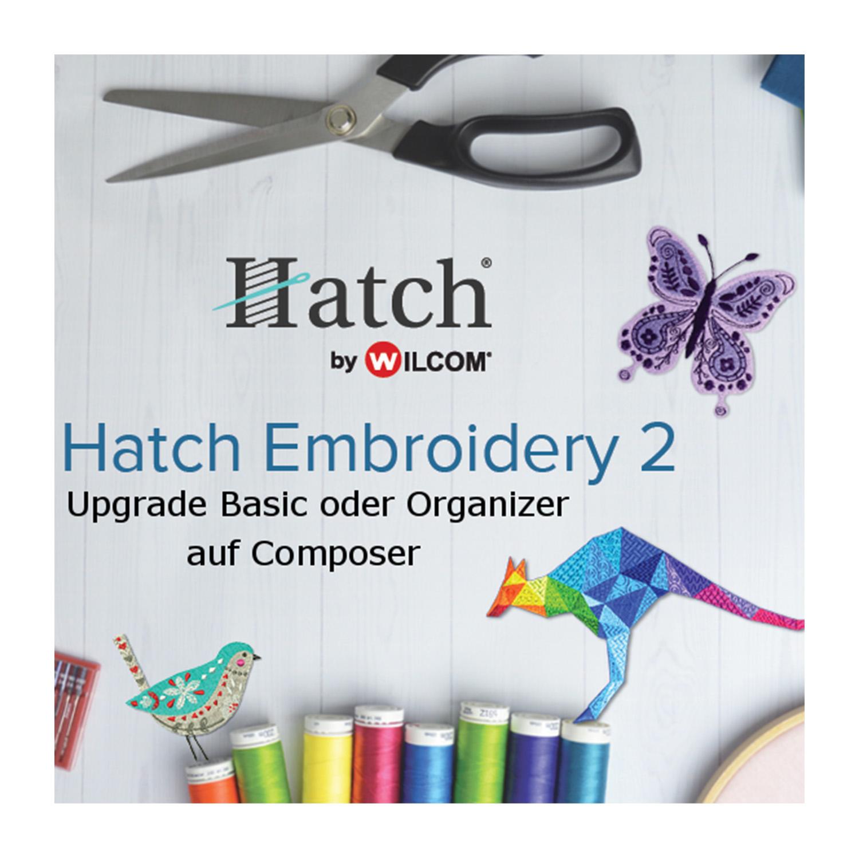 HATCH Upgrade von Basic/Organizer auf Composer