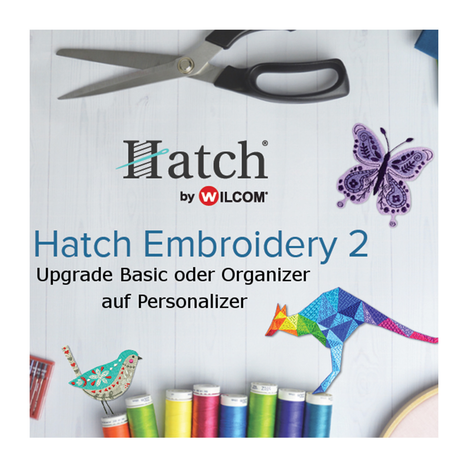 HATCH Upgrade von Basic/Organizer auf Personalizer