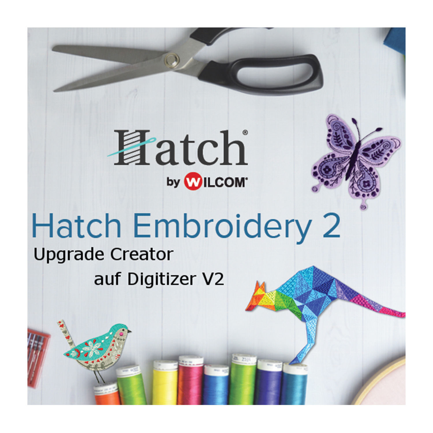 HATCH Upgrade von Creator auf Digitizer V2