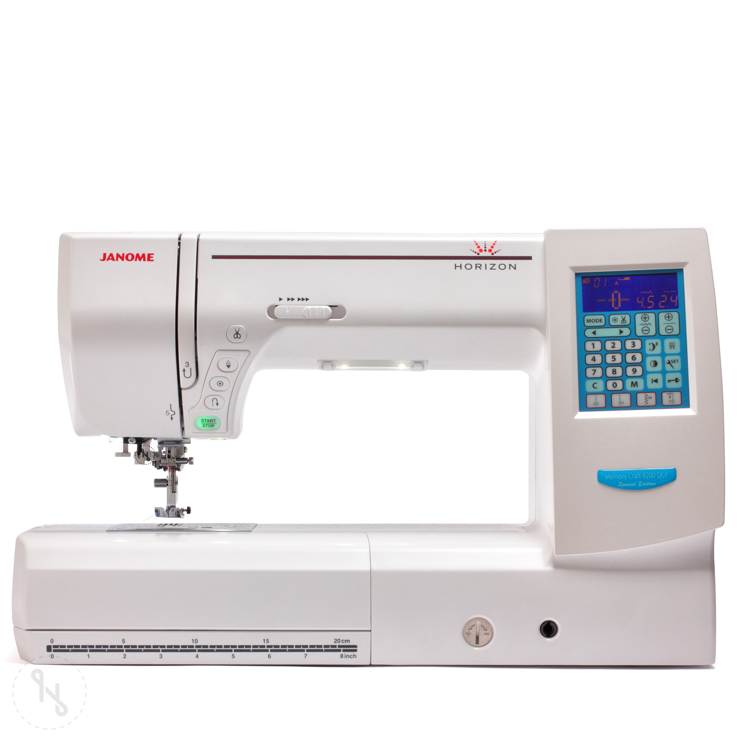 JANOME Horizon MC 8200 QCP Special Edition weiß