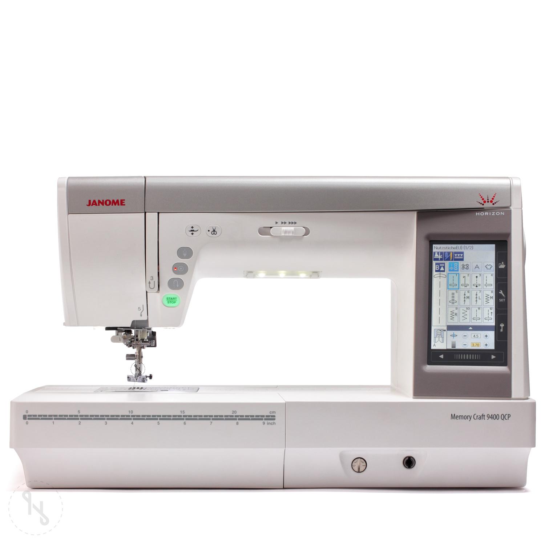 JANOME Horizon Memory Craft 9400 QCP Ausstellungsmaschine