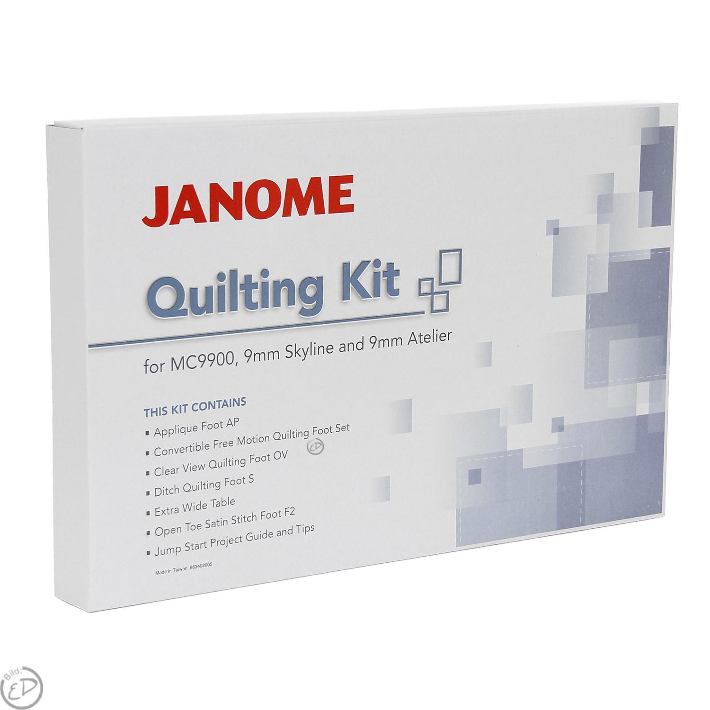 JANOME Quilt-Zubehör Set 9mm