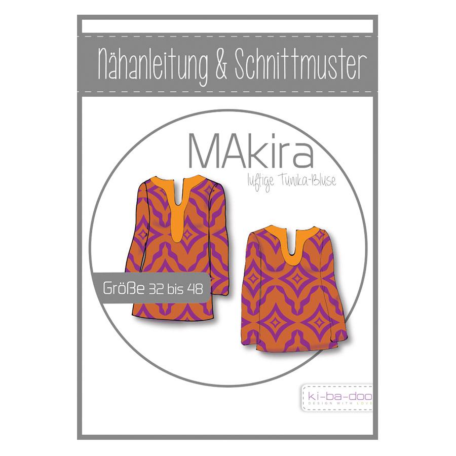 KI-BA-DOO Papierschnittmuster Tunika MAkira