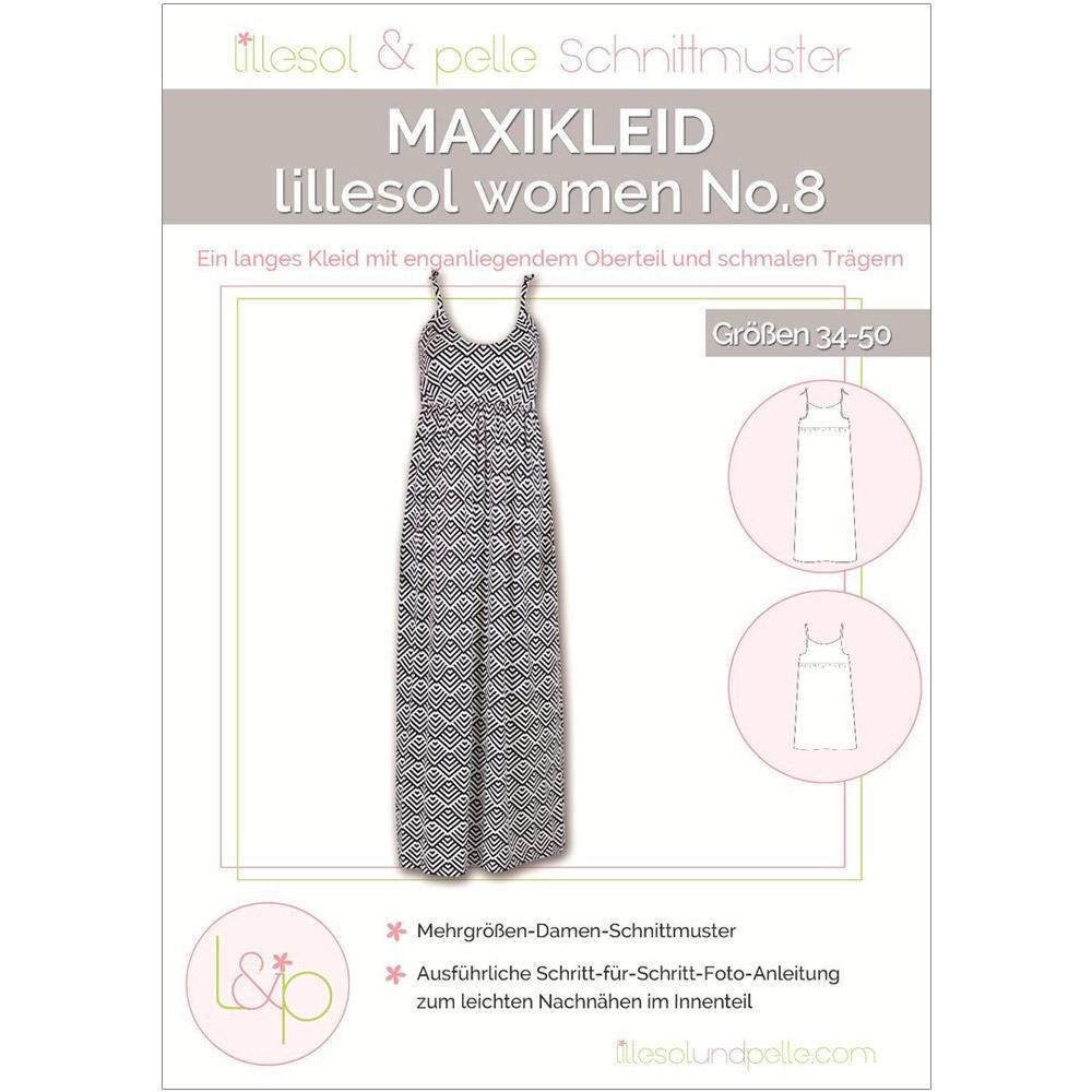 LILLESOL Women Papierschnittmuster No.8 Maxikleid