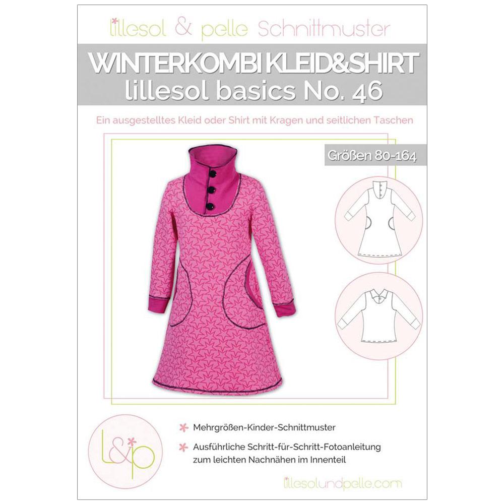 LILLESOL Basics Papierschnittmuster No.46 Winterkombi