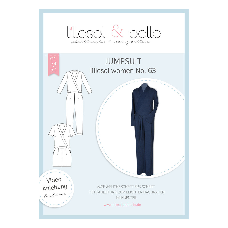 LILLESOL Women Papierschnittmuster No. 63 Jumpsuit