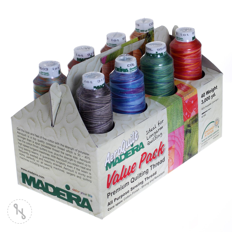 MADEIRA AeroQuilt multi Farbsortiment 8 Farben