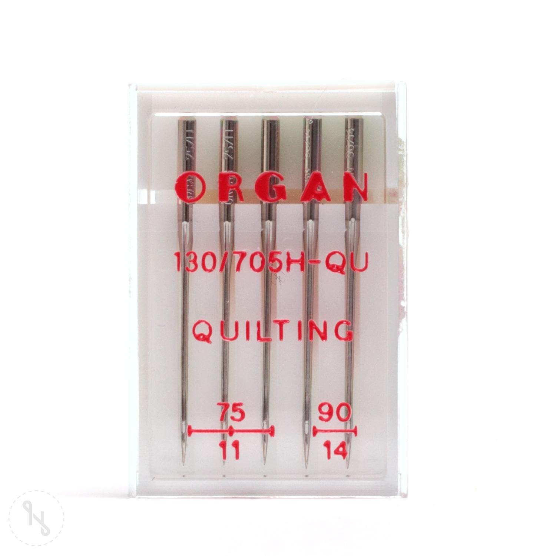 MADEIRA Quilting Nadeln 5er Packung Stärke 75 und 90