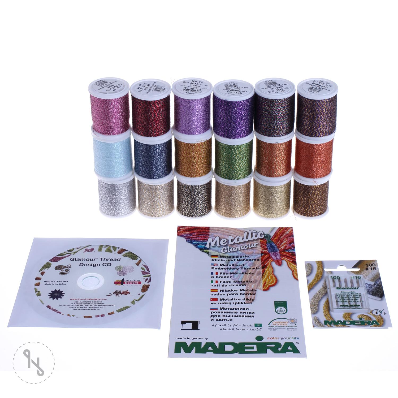 MADEIRA Smart Box Glamour No.12 200m x 18 Spulen
