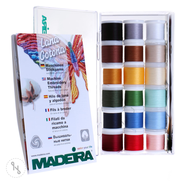 MADEIRA Stickbox Cotona No. 30 18 x 200m