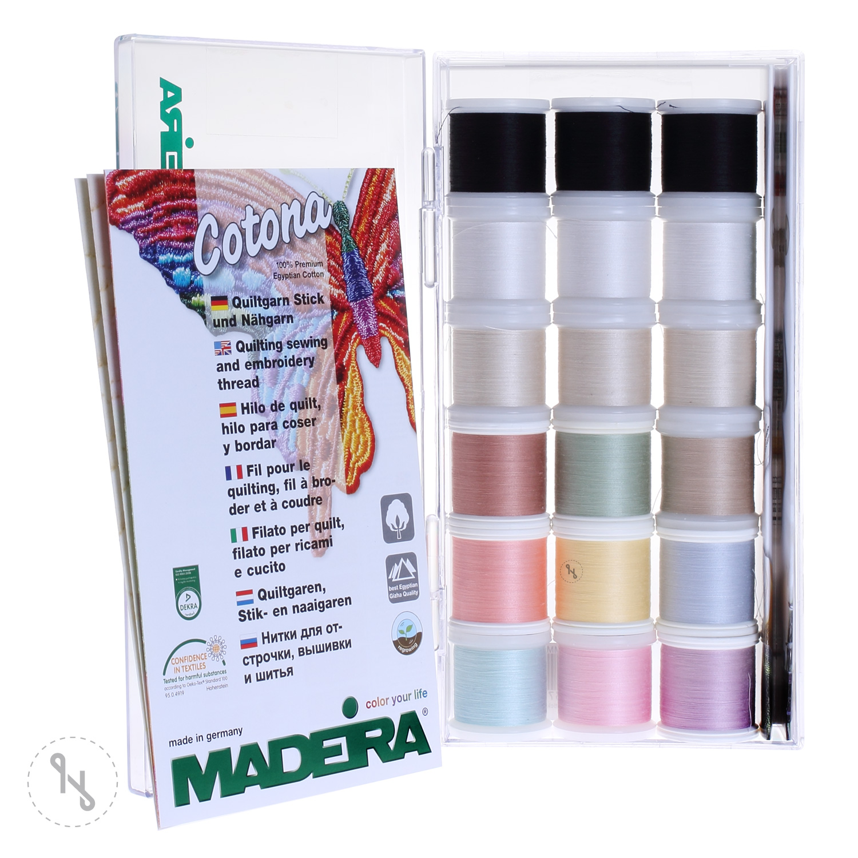 MADEIRA Stickbox Cotona No. 80 18x200m