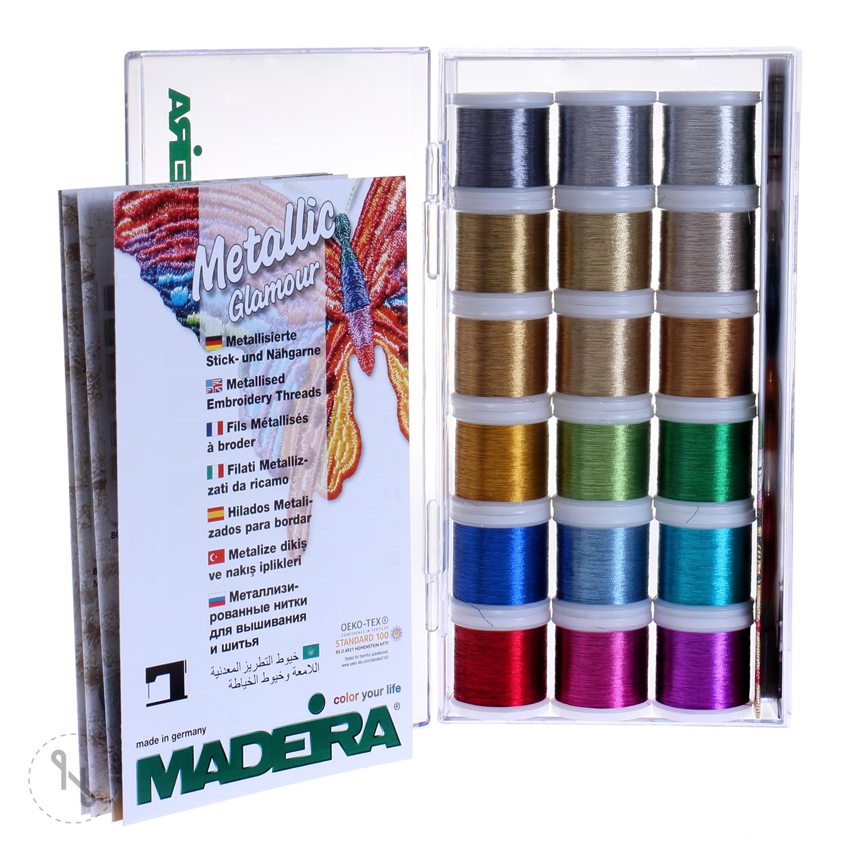 MADEIRA Stickbox Metallic Smooth 18 x 200 m