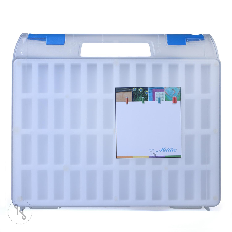 METTLER Leerkoffer für Polysheen 200m Spulen