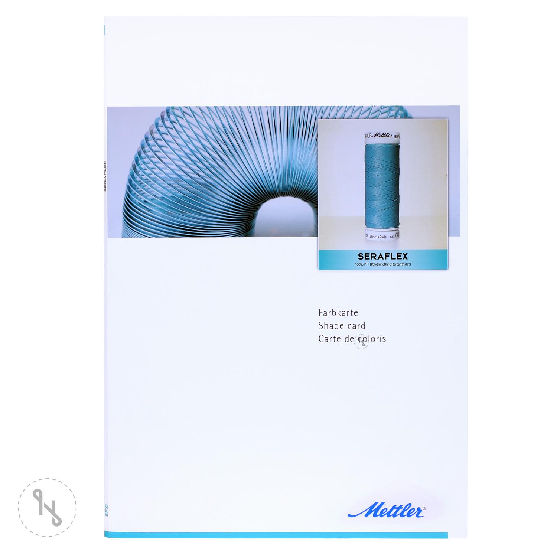 METTLER Original Farbkarte Seraflex