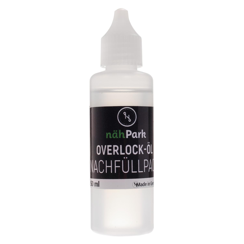 NÄHPARK Öl für Overlockmaschinen Nachfüllflasche 50 ml