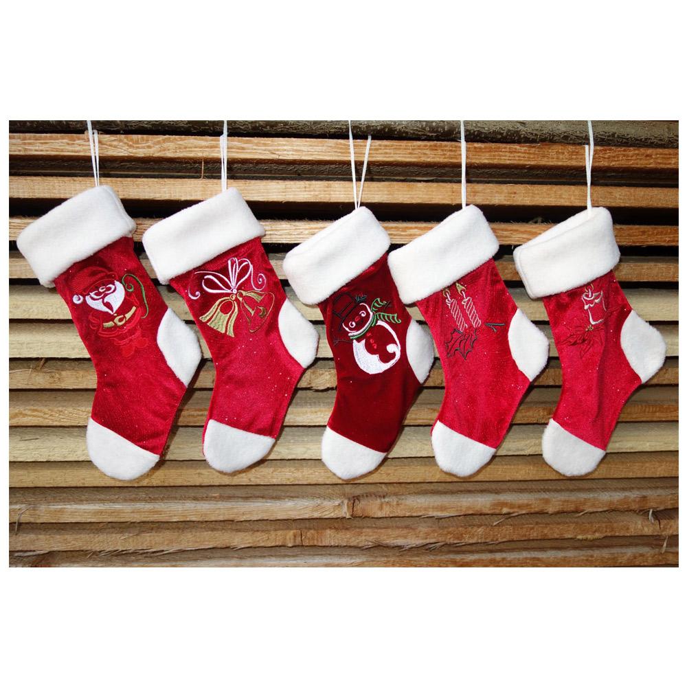 NÄHPARK Stickmuster Outline Christmas