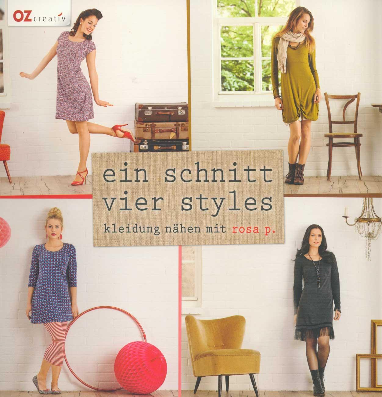 OZ CREATIV Ein Schnitt vier Styles