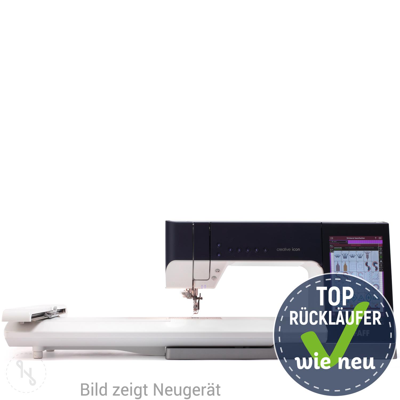 PFAFF Creative Icon mit Stickmodul Versandrückläufer