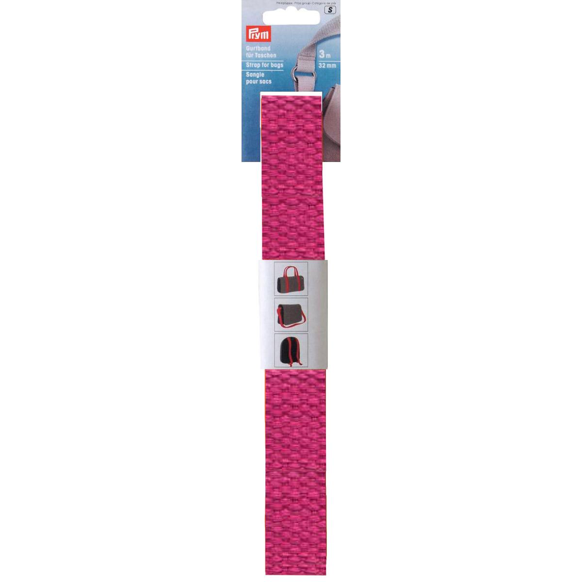 PRYM Gurtband pink