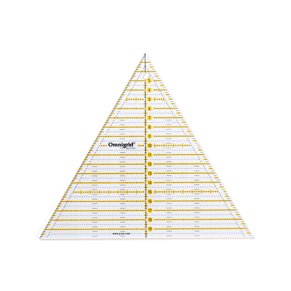 PRYM Patchwork-Lineal 60° Dreieck Multi 20 cm