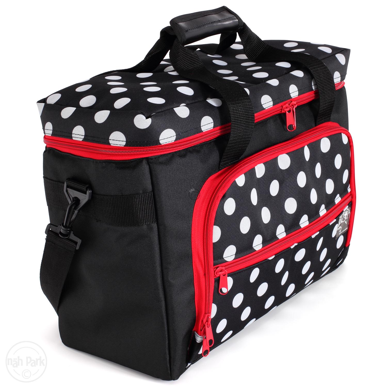 PRYM Nähmaschinen-Tasche Polka Dots
