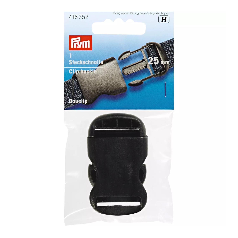 PRYM Steckschnalle zum klicken schwarz 50mm