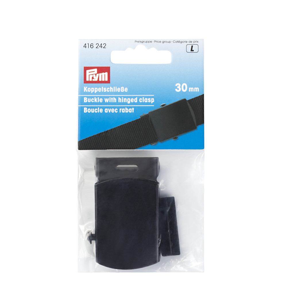 PRYM Koppelschließe 30mm schwarz