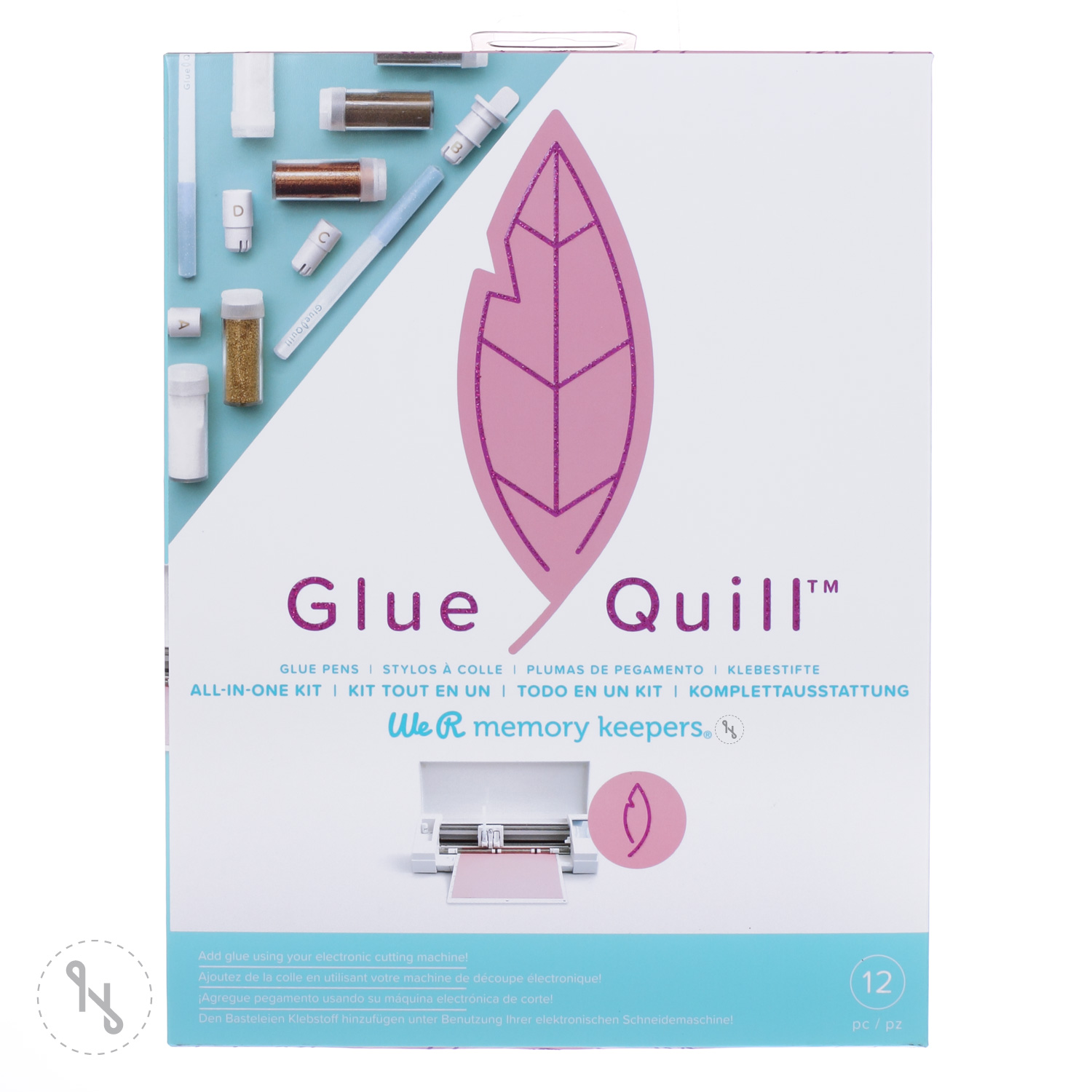 WE R MEMORY KEEPERS Glue Quill Starterkit