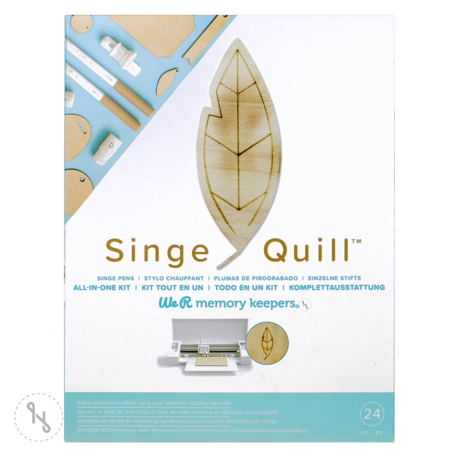 WE R MEMORY KEEPERS Singe Quill Starterkit