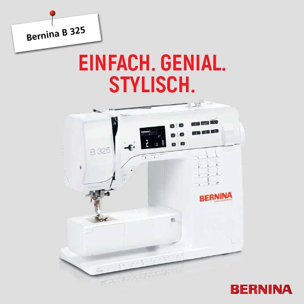 1 Bernina B 325 xs + sm