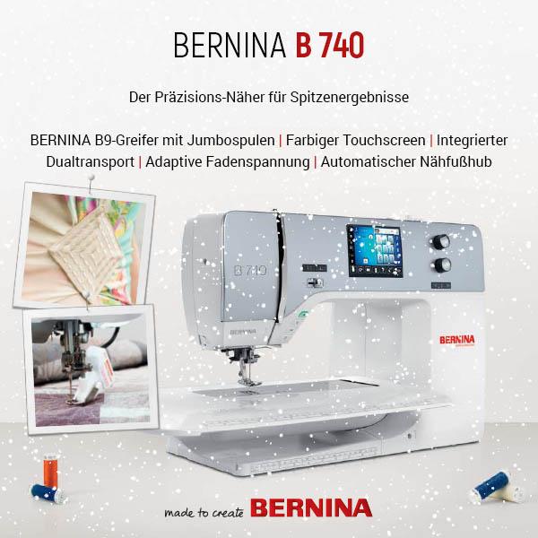 0 Bernina B 740 xs + sm