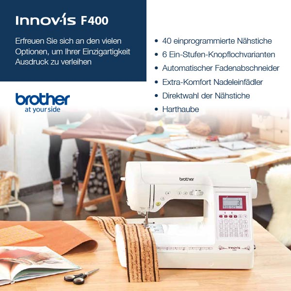 1 Brother Innov-is F400 xs+sm
