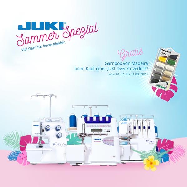 1 Juki Sommer Spezial xs+sm