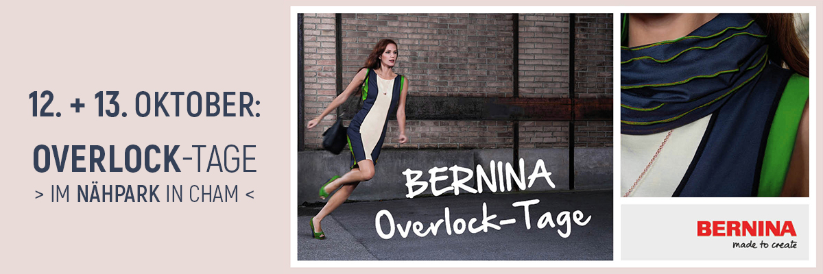 Bernina Overlocktage 2019