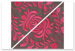 Bernina Embroidery Plus - Totale Stichkontrolle