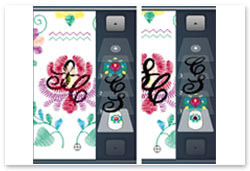 Bernina Embroidery Plus - Stickreihenfolge ändern