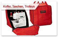 Koffer, Taschen und Trolleys