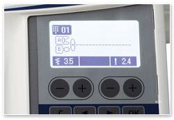 Juki HZL-DX 5 Display